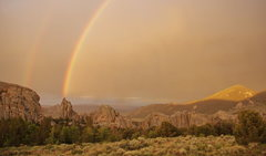 Rock Climbing Photo: I think we all know the pot of gold that lies at t...
