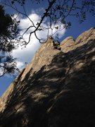 Rock Climbing Photo: Second Hand Rose Arete.