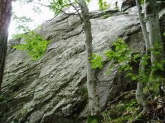 "Rock Climbing Photo: START of ""Bear Minimum"", at the higher o..."