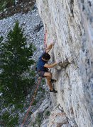 Rock Climbing Photo: Starting into the business of Altaworld/Silver Sou...
