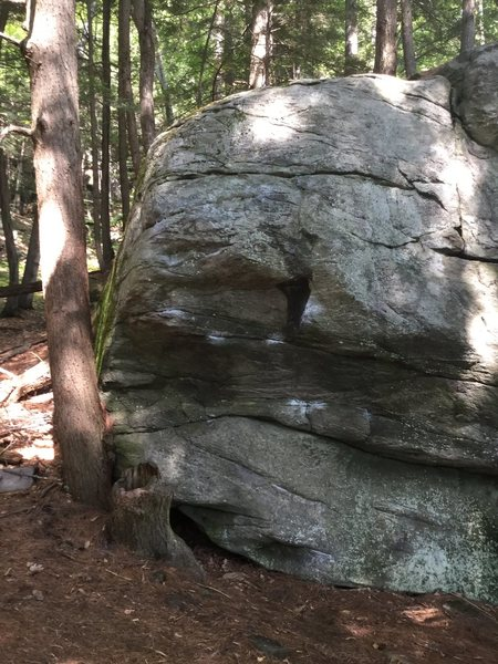 First problem on Entry Boulder