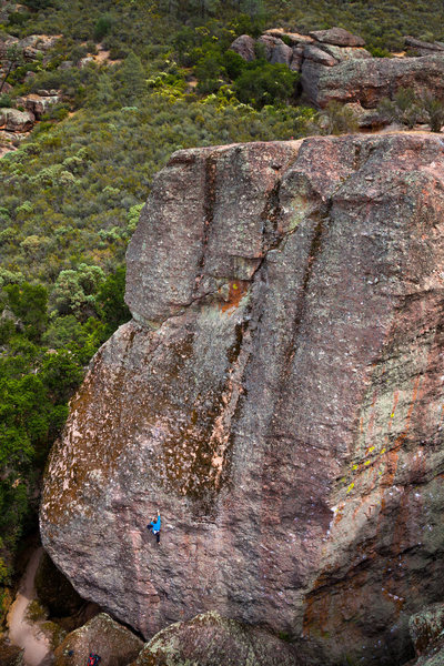 Rock Climbing Photo: Valerie Hooper sending Future Shock.  Photo - Kyle...