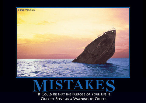 Rock Climbing Photo: mistakes