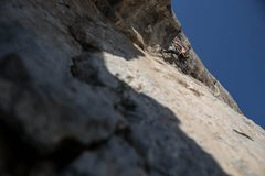 """Rock Climbing Photo: First Ascent of """"No Mi Chingiues!"""" 5.13c..."""