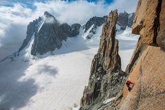 Rock Climbing Photo: La Grand Capucin, Mont Blanc Massive, France