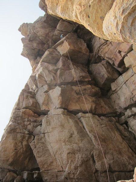 Rock Climbing Photo: Scary azz