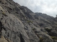 Rock Climbing Photo: Road to Perdition pitch 1.