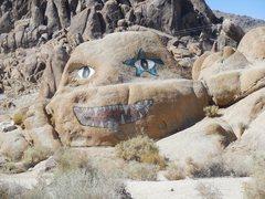 Rock Climbing Photo: Rock Art