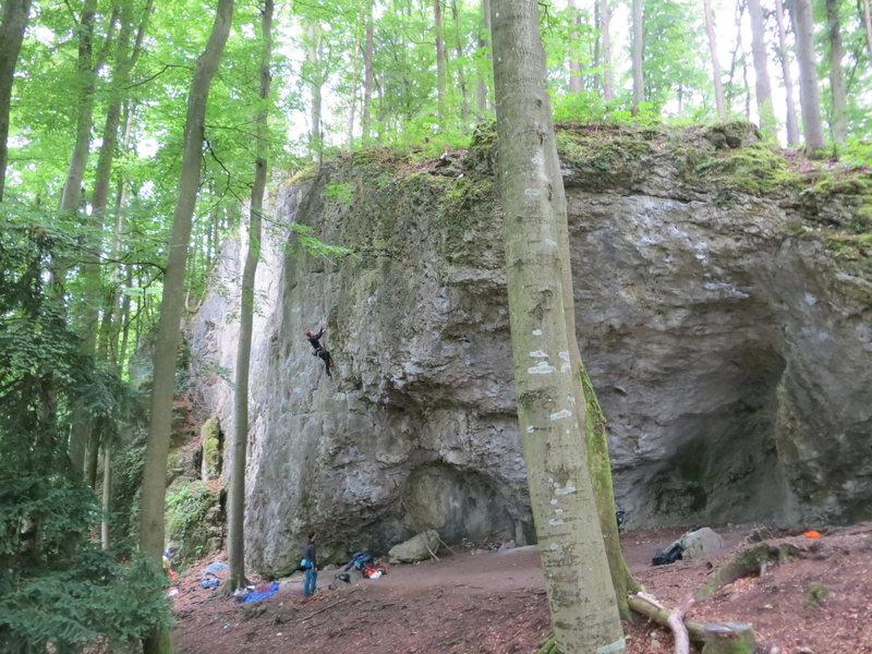 Rock Climbing Photo: Schlosszwergwand