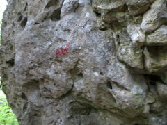 "Rock Climbing Photo: Many of the routes are labeled as ""Alf"" ..."