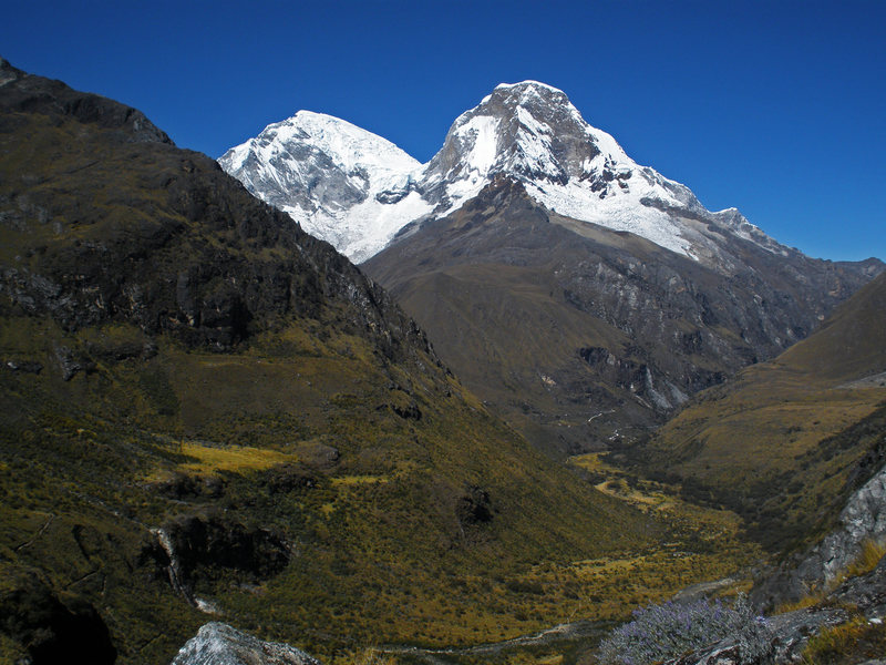 Huascaran Sur (22,205 ft.) and Norte (21,834 ft.)
