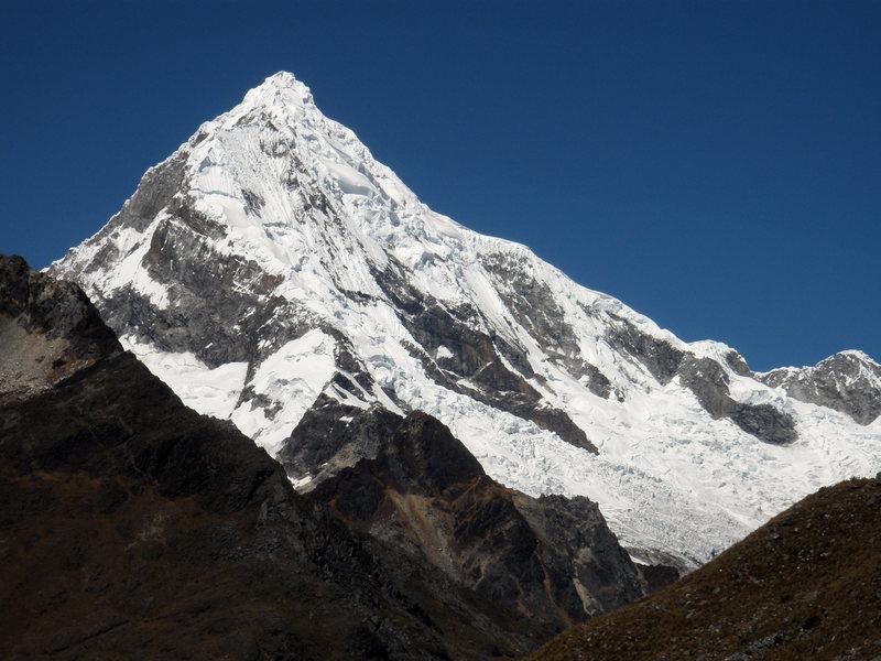 Rock Climbing Photo: Chopicalqui (20,846 ft.)