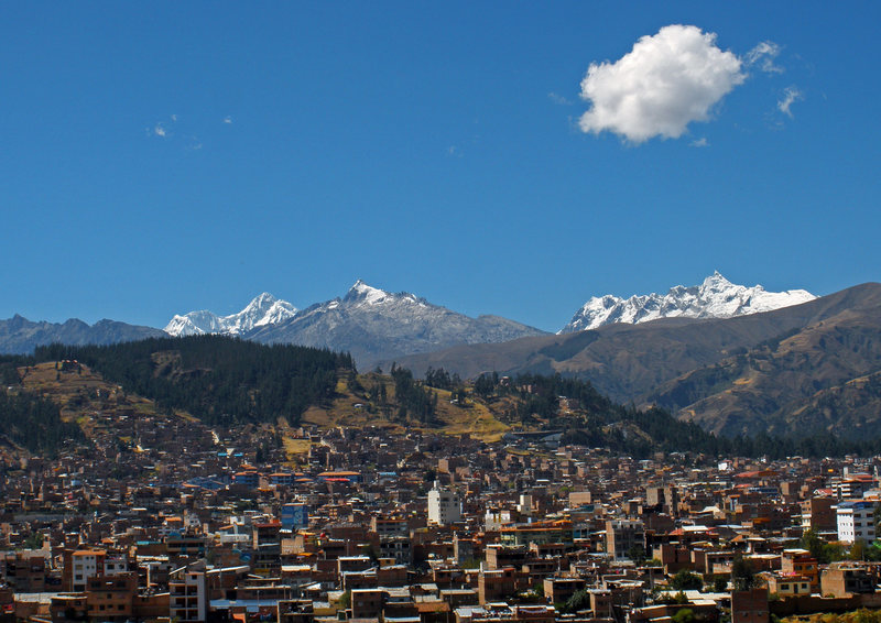 Rock Climbing Photo: Huaraz and the Cordillera