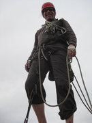 Rock Climbing Photo: Bob on Cathedral Peak