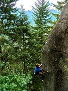 Rock Climbing Photo: Michal Rynkiewicz on FA of THe Shrew