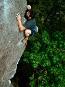 Rock Climbing Photo: Chandler davis 2nd ascent