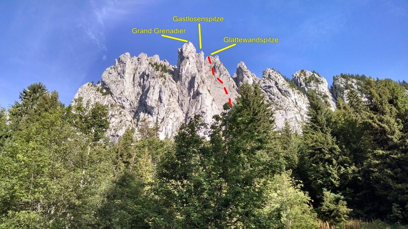 Rock Climbing Photo: View from Oberberg parking lot.
