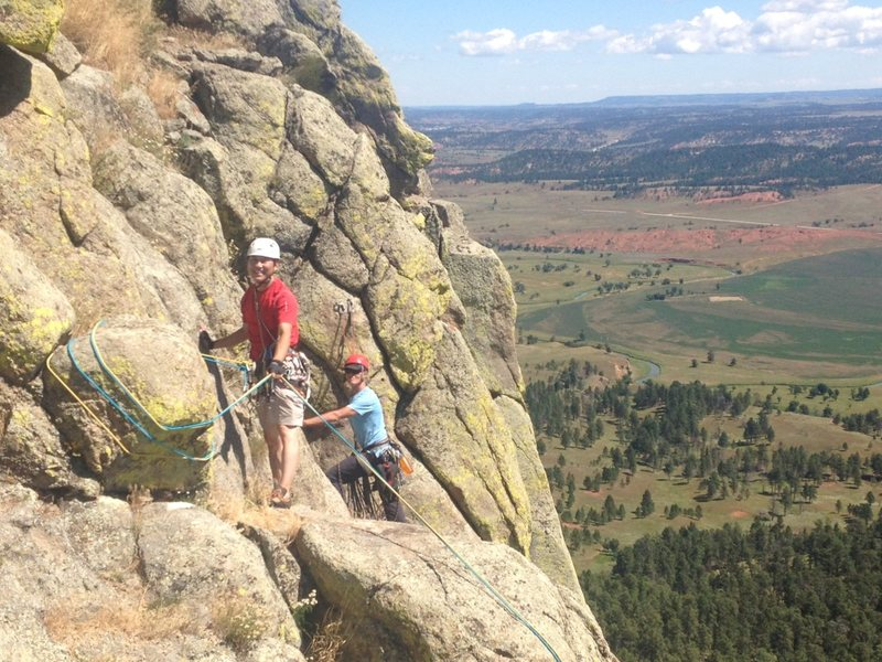 Rock Climbing Photo: Me and Norman