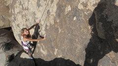 Rock Climbing Photo: Sarah Patno on Polish Power.