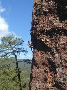 Rock Climbing Photo: Climbing in El Rito