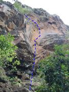 Rock Climbing Photo: s crack