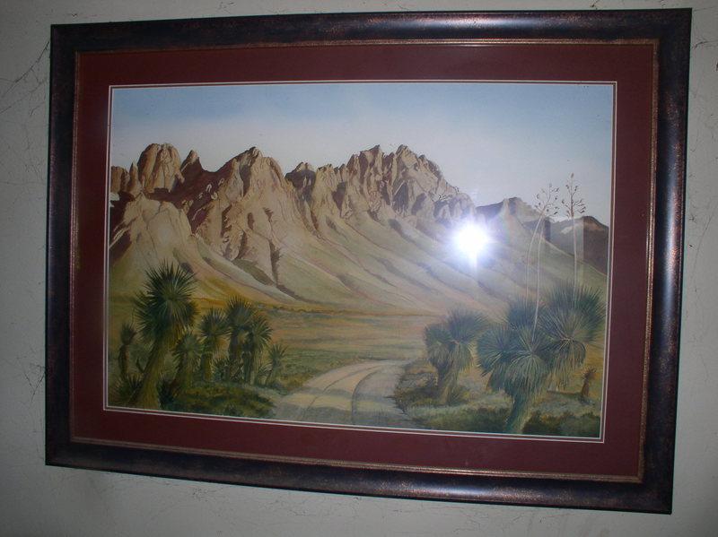 Rock Climbing Photo: Organ Watercolor 1