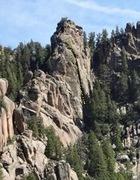 Rock Climbing Photo: Climb the giant chimney!