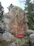 Rock Climbing Photo: I Got a Pickle (Backyard Boulder)