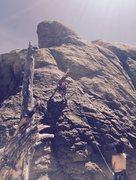 Rock Climbing Photo: Jeff, Dike Hike