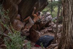 Rock Climbing Photo: Richard Edwards on Alien Baby Left