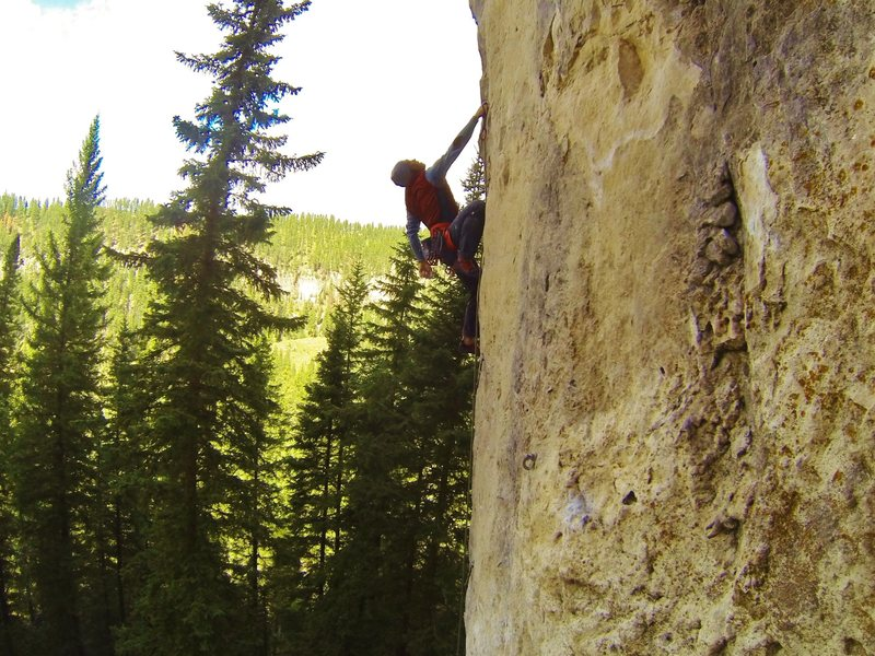 Rock Climbing Photo: Tough Love, 5.13a