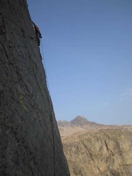 Rock Climbing Photo: Dylan on P3