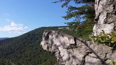 Rock Climbing Photo: Rap ledge at fun land