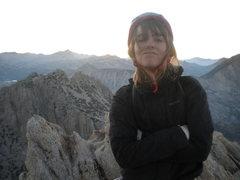 Rock Climbing Photo: The summit smirk
