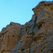 Rock Climbing Photo: Judd in the Zone