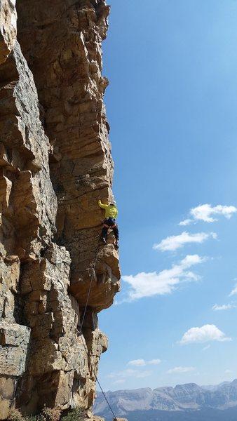 Rock Climbing Photo: Judd gets AHVI