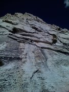 Rock Climbing Photo: Base of Cathedral Peak