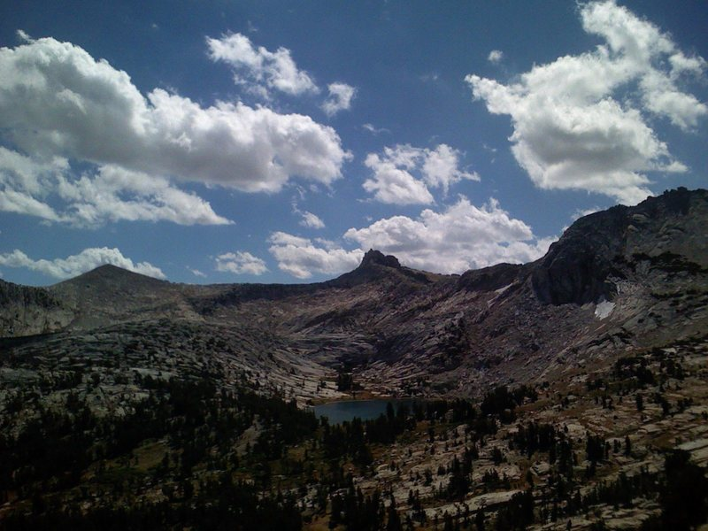 Rock Climbing Photo: Cathedral Peak views
