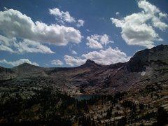 Rock Climbing Photo: Cathedral Peak views