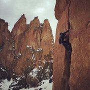 Rock Climbing Photo: Cragging.