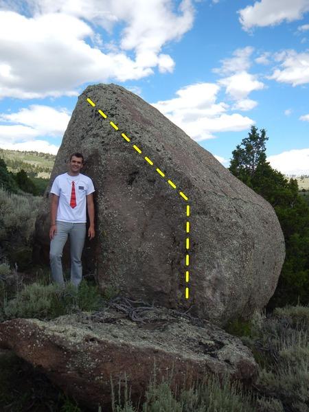 Rock Climbing Photo: Dog Leg