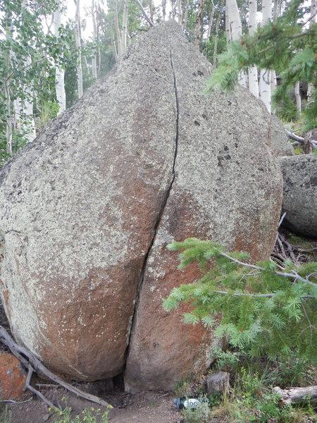 Rock Climbing Photo: Butt Boulder