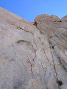 Rock Climbing Photo: Sending the memorable crux!