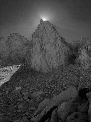 Rock Climbing Photo: Ansel Adams tribute