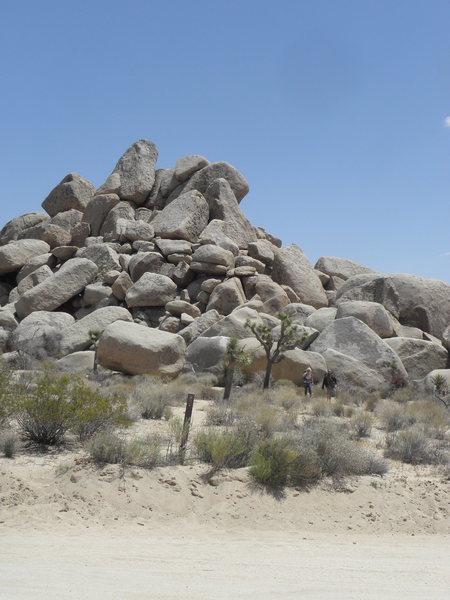 Rock Climbing Photo: Little Europe Area