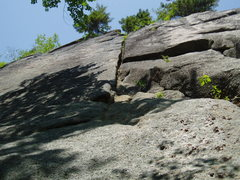 Rock Climbing Photo: Upper Crack - Brain Flush / Fart