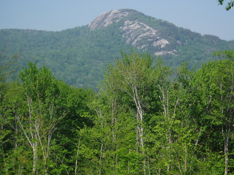 When views of Sugarloaf open up, you're close (taken May, 2010)