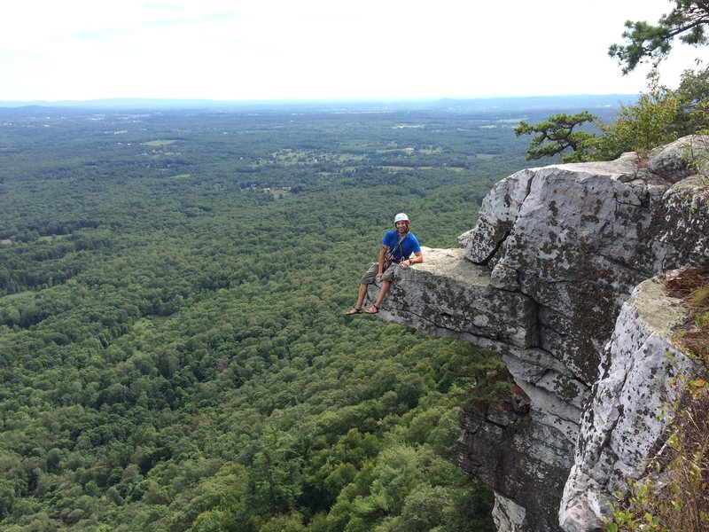 Rock Climbing Photo: Treat yourself to an awesome photo opp after sendi...