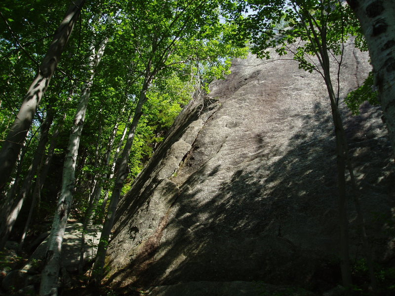 Rock Climbing Photo: Crescent Crack