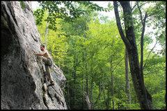 Rock Climbing Photo: tyler slays the Beastie